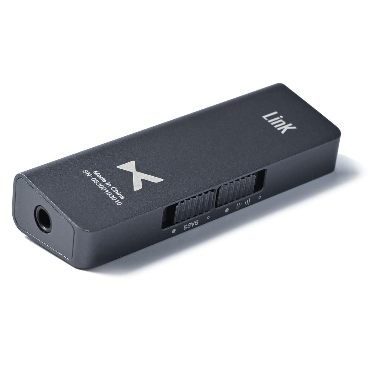 XDUOO LINK2 Adaptateur DAC USB-C ES9118EC 32bit 384kHz DSD256 150mW 32 Ohm Gris