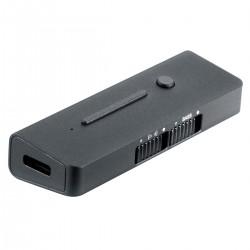 XDUOO LINK2 DAC Adapter USB-C ES9118EC 32bit 384kHz DSD256 150mW 32 Ohm Gray