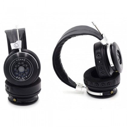 SPIRIT AUDIO TITANO HiFi Headphone Semi Closed Circumaural 2000mW 32 Ohm 18Hz - 39kHz