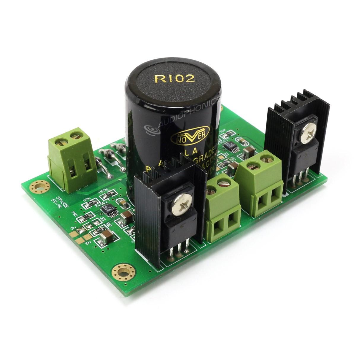 Dual Linear Power Supply Module LT3042 5V / 3.3V 1A