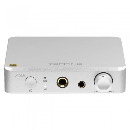 TOPPING A50S Balanced Headphone Amplifier Preamplifier Gray