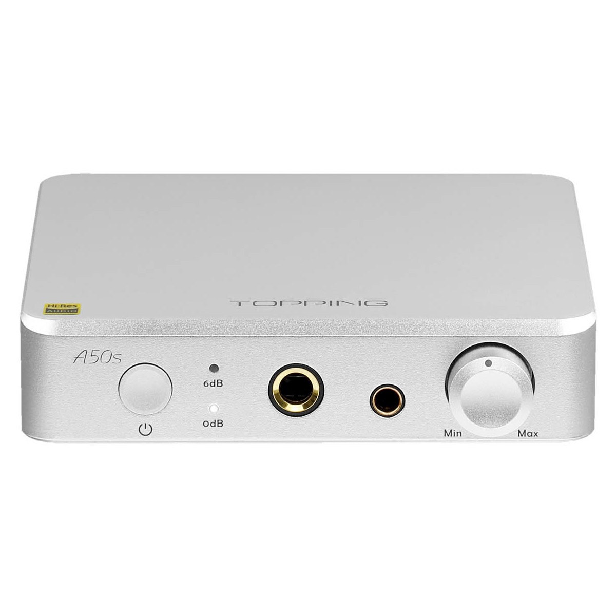 TOPPING A50S Balanced Headphone Amplifier Preamplifier Silver