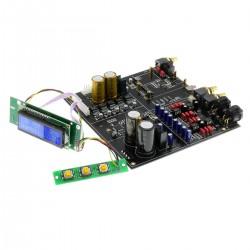 DAC Module 2x AKM AK4497EQ I2S SPDIF XLR RCA 32bit 384kHz AOP NJR 5534DD