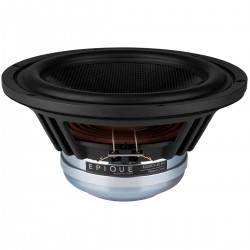 DAYTON AUDIO EPIQUE E220CF-8 Speaker Driver Woofer Carbon Fiber 150W 8 Ohm 91dB 25Hz - 4500Hz Ø20.3cm