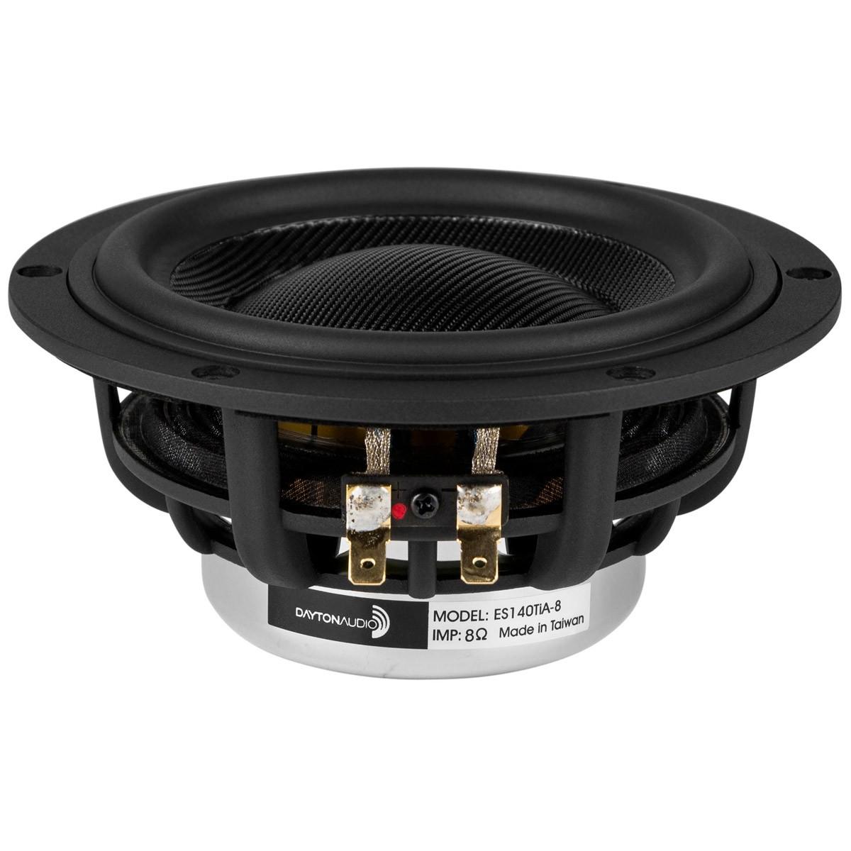 DAYTON AUDIO ES140TiA-8 Speaker Driver Woofer 100W 8 Ohm 84dB 45Hz - 41kHz Ø14cm