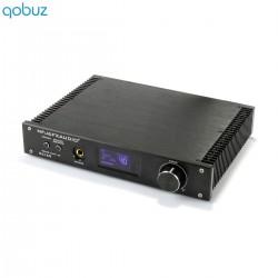 FX-AUDIO D2160 MKII FDA Amplifier Bluetooth 5.0 Class D TAS5614 2x100W 4 Ohm Black