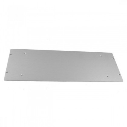 HIFI 2000 Front Panel Aluminum 4mm Silver for 2U Case