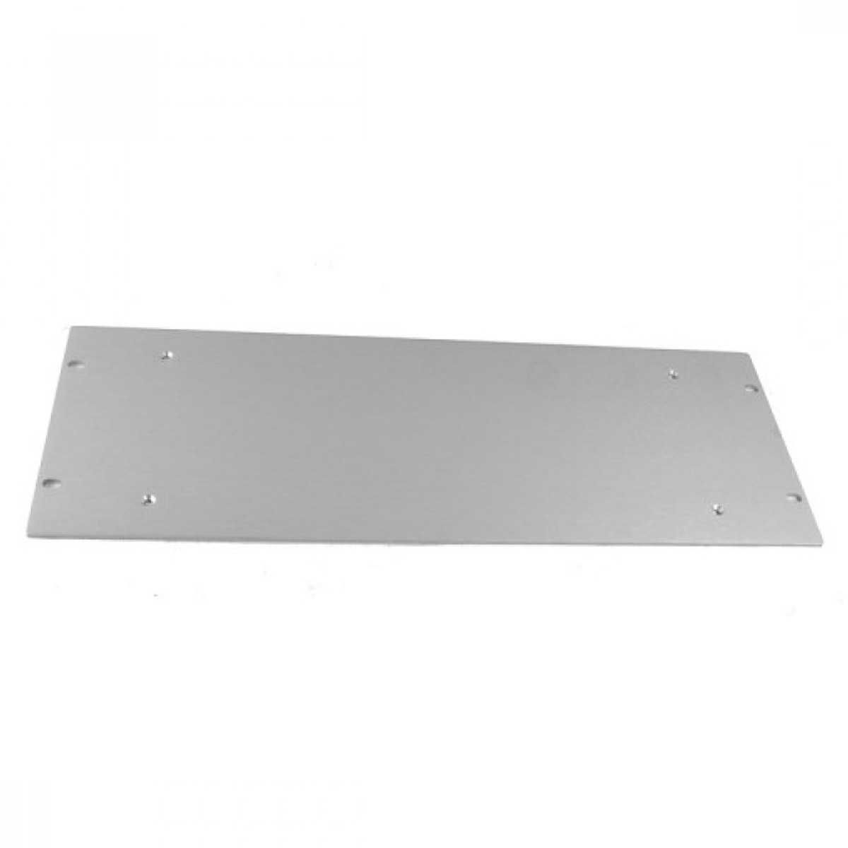 HIFI 2000 Front Panel Aluminum 4mm Silver for 4U Case