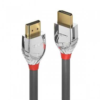 LINDY CROMO LINE High Speed HDMI 2.0 Cable Triple Shielding 24k Gold Plated 0.5m