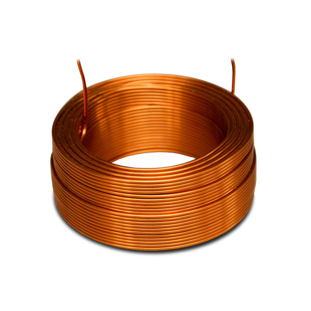 JANTZEN AUDIO 000-1221 4N Copper Air Core Wire Coil 20AWG 2.9mH 43x30mm
