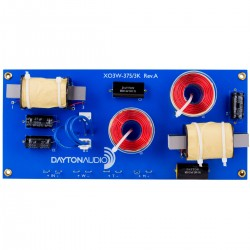 DAYTON AUDIO XO3W-375/3K Speaker Crossover 3 Way 375/3000Hz