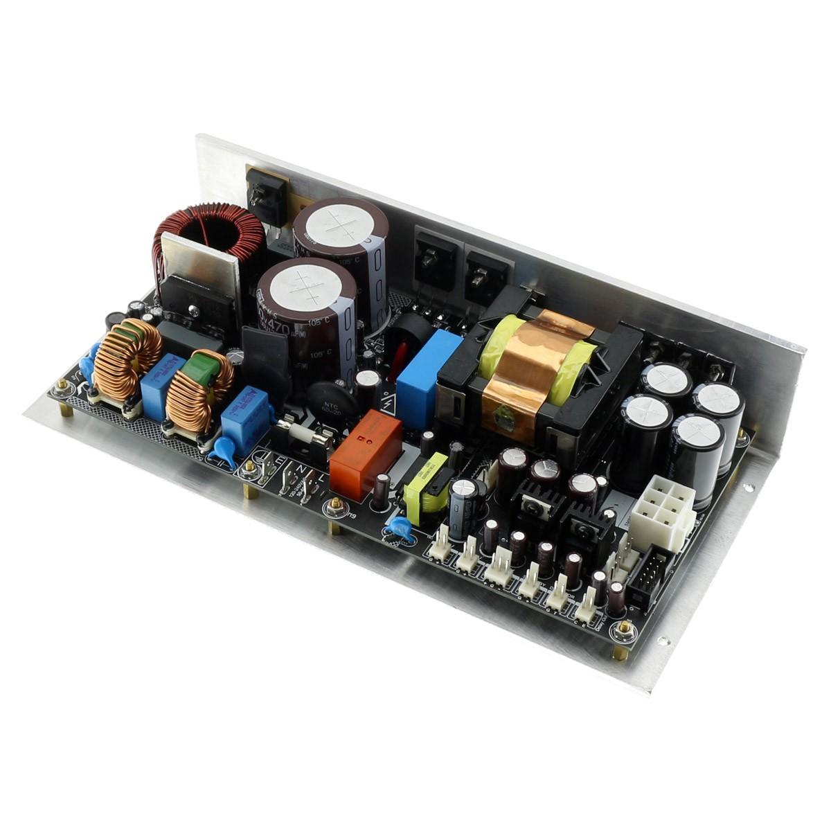MICRO AUDIO SMPS1K-PFC Module d'Alimentation à Découpage 2x64V 12V 3.3V +/-18V +/-25V 1500W