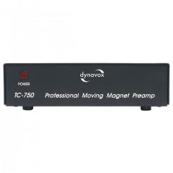 DYNAVOX TC-750 Préamplificateur Phono MM Noir