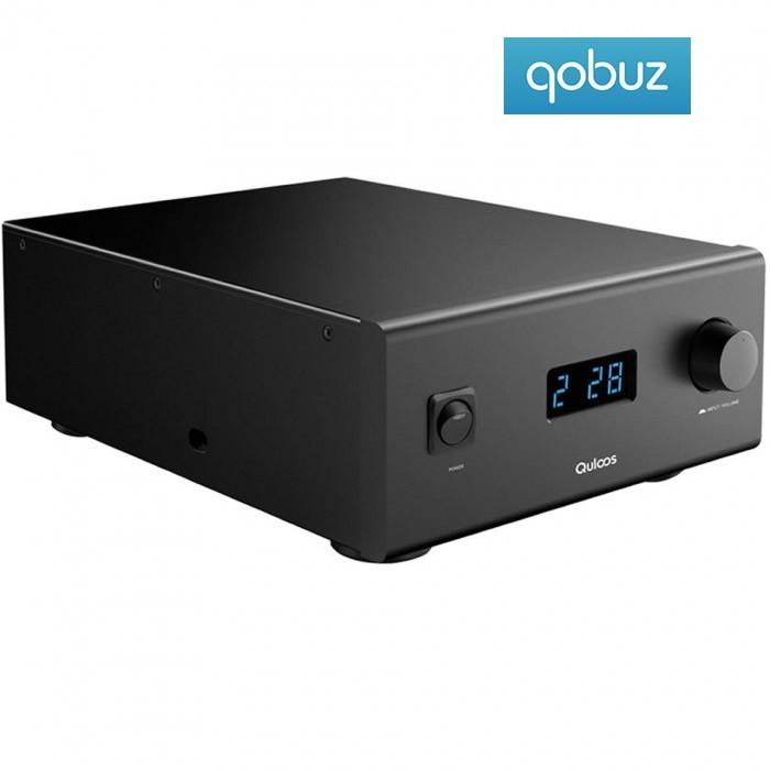 QULOOS QA690 FDA Power Amplifier 24bit 192khz XMOS 2x100W / 8 Ohm