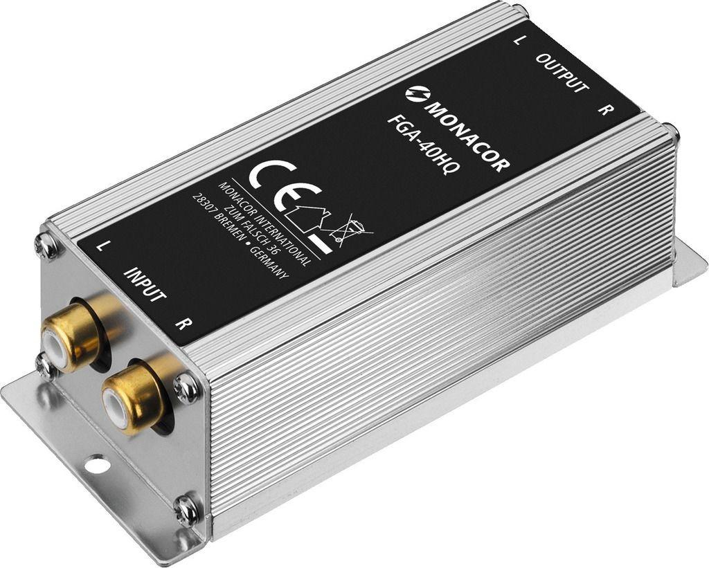 FGA-40HQ Transformateur d'Isolation 1:1 20-30000 Hz