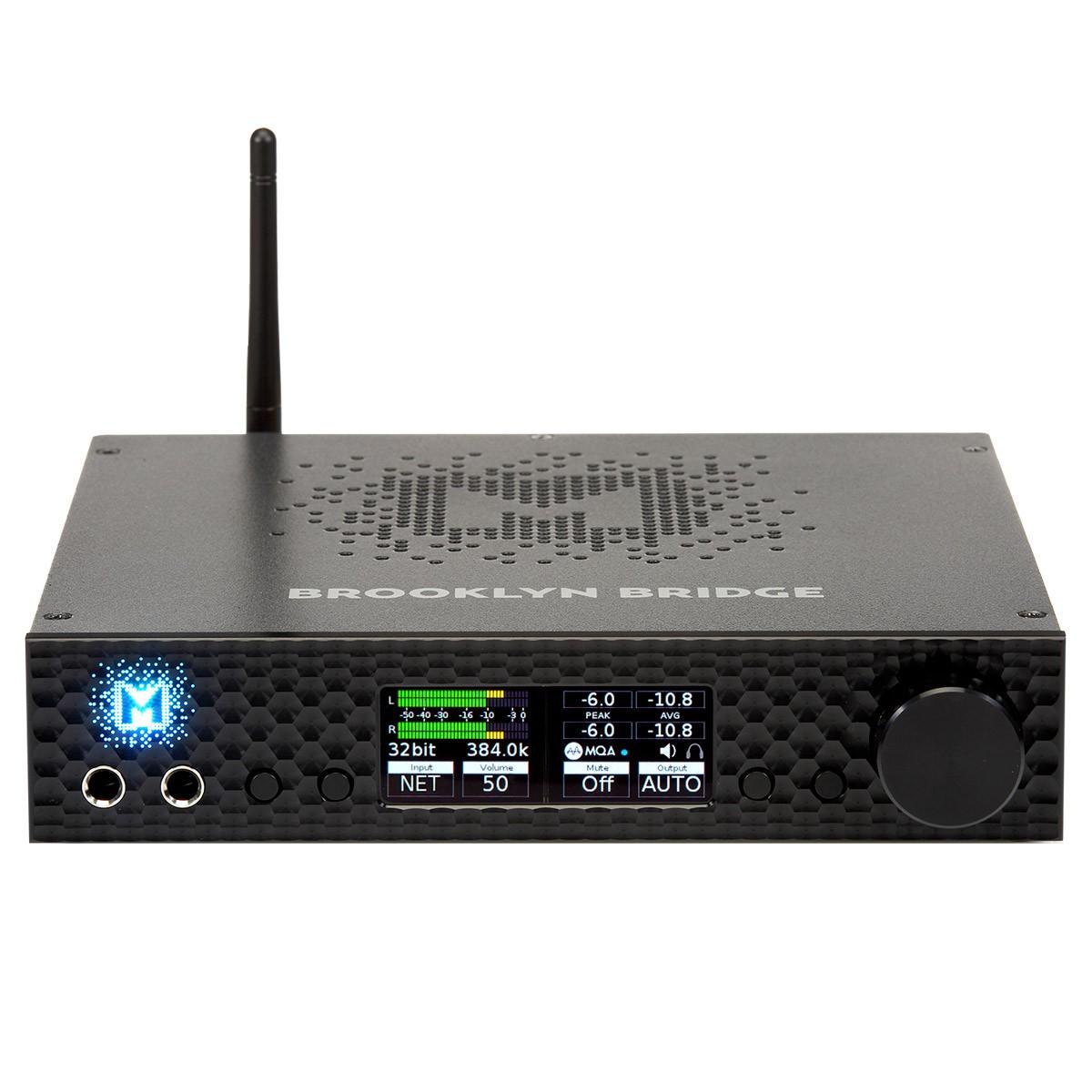 MYTEK BROOKLYN BRIDGE Lecteur Réseau DAC Préamplificateur Phono MM/MC ES9028Pro 32bit 384kHz DSD256 MQA