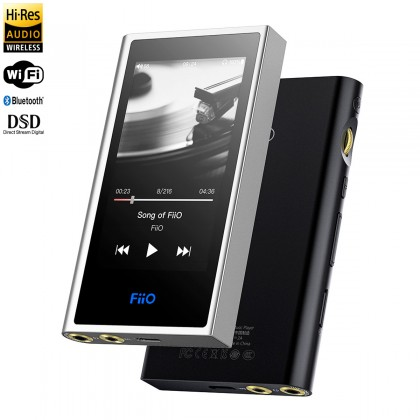 FIIO M9 Digital Audio Player DAP 2x AK4490EN WiFi Bluetooth aptX-HD LDAC HWA Symétrique 32bit 192kHz DSD128