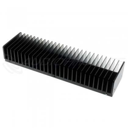 Heatsink Anodized 300x85x50mm Black