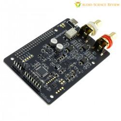 AUDIOPHONICS DAC I-Sabre ES9038Q2M Raspberry Pi / I2S & SPDIF / PCM DSD Alimentation USB-C