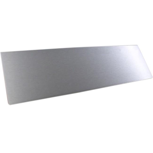 HIFI 2000 Facade aluminium 10mm Silver pour boitier 2U