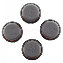 AUDIO BASTION REDLINE DAMPER Absorbeur de Vibrations Aluminium / Silicone (Set x4)