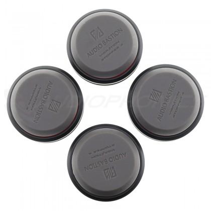 AUDIO BASTION REDLINE DAMPER PLUS+ Absorbeur de Vibrations Aluminium / Silicone (Set x4)