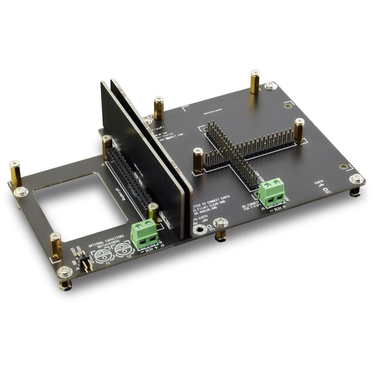 IAN CANADA STATIONPI PCB Adaptateur pré-assemblé pour Raspberry Pi & Modules Audio