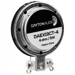 DAYTON AUDIO DAEX19CT-4 Haut-Parleur Vibreur Exciter Large Bande 5W 4 Ohm Ø19mm