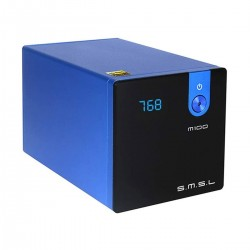 SMSL M100 MKII DAC ES9018Q2C XMOS 32bit 768kHz DSD512 Black