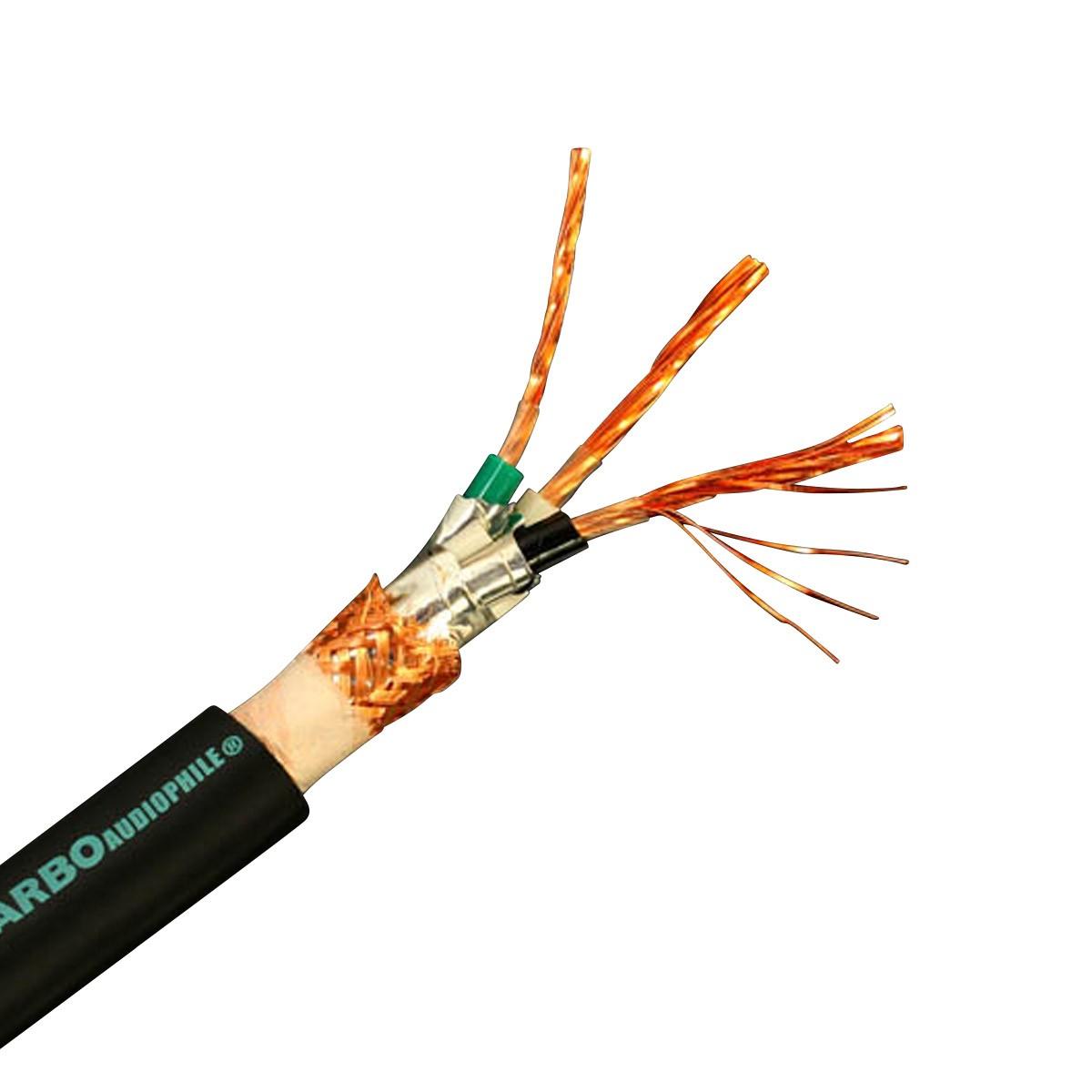 YARBO SP-7000PW Câble Secteur Cuivre OFHC Double Blindage 3x3.15mm² Ø16mm