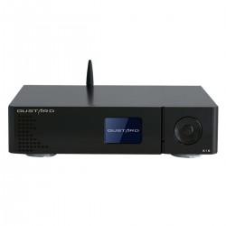GUSTARD DAC-X16 DAC Symétrique 2x ES9068AS Accusilicon XMOS MQA Bluetooth 5.0 32bit 768kHz DSD512 Noir