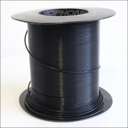 100% PTFE sheath Black AWG14 Ø1mm
