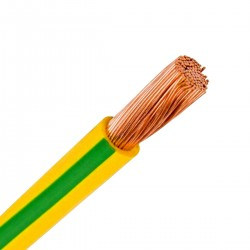 LAPP KABEL H05V-K Multi Strand Wiring Cable 0.75mm² Yellow / Green