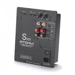 ATOHM S500-X ICE POWER Module Amplificateur Class D Subwoofer 500W 4 Ohm