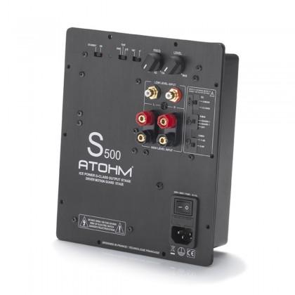 ATOHM S500-X ICE POWER Amplifier Module Class D Subwoofer 500W 4 Ohm