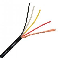 MOGAMI W2929 Câble de Modulation Cuivre OFC 4x0.081mm² Ø2.7mm
