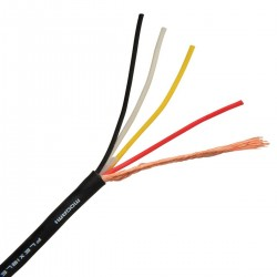 MOGAMI W2929 Interconnect Cable OFC Copper 4x0.081mm² Ø2.7mm
