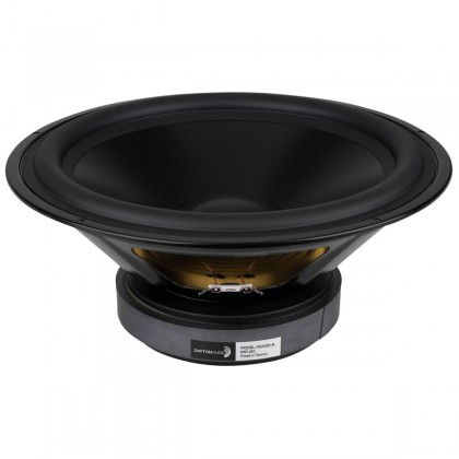 DAYTON AUDIO DSA315-8 Speaker Driver Woofer Aluminum 120W 8 Ohm 90dB 24Hz - 2000Hz Ø30.5cm