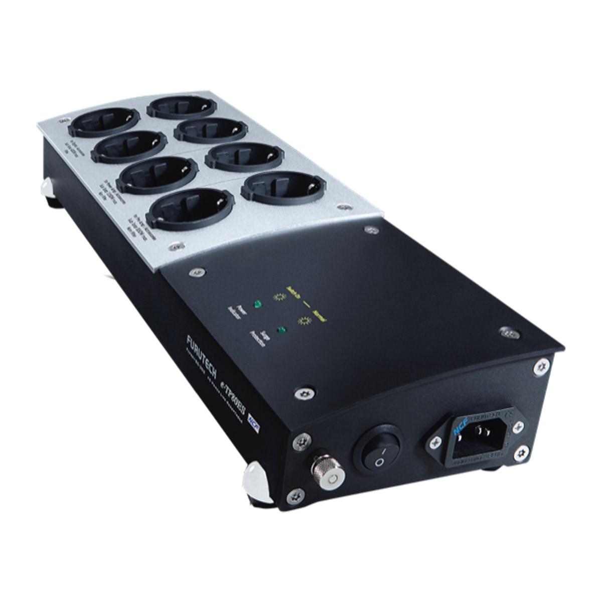FURUTECH E-TP80ES NCF Filtered Power Distributor 8 Sockets NCF Alpha Treatment GC-303