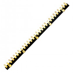 JANTZEN AUDIO 012-0370 Solder Tag Strip 28 Pins Gold Plated