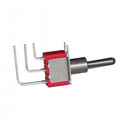 Interrupteur à Bascule 1 Pôle 3 Positions ON-OFF-ON 3 Pins 250VAC 2A / 120VAC 5A