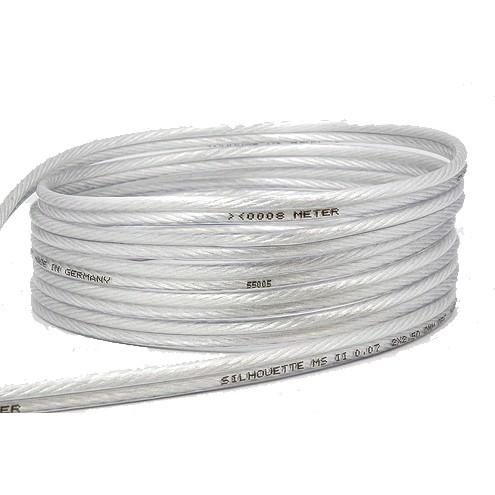 MEDIA-SUN SILHOUETTE MS1S Speaker cable Silver / Copper 2x1.5mm²