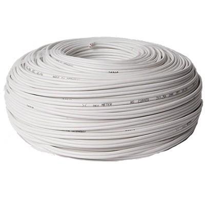 MEDIA-SUN MS1 Câble Haut-parleur Cuivre OFC Blanc 2x1.5mm²