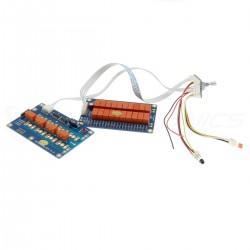Module Contrôle de Volume à Relais Sélecteur de Source RCA 50K