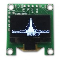 "OLED screen 0.96 ""128x64 White Vu-meter"