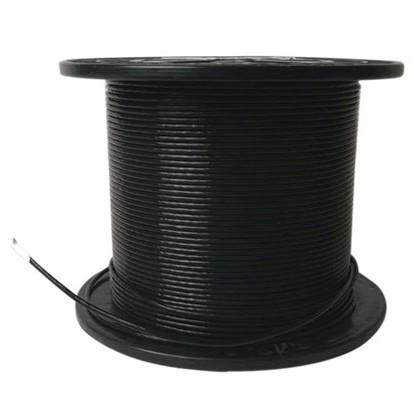 ELECAUDIO FC116TS Fil de Câblage Cuivre/Argent FEP 1.6mm² (Noir)