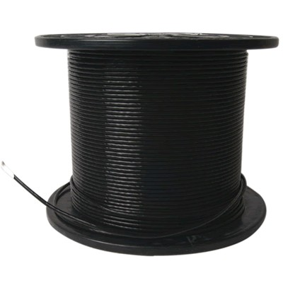 ELECAUDIO FC116TS Fil de Câblage Cuivre / Argent FEP 1.6mm² (Noir)