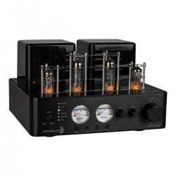 Dayton Audio HTA100BT Hybrid 2 Tube Amplifier SPDIF USB BT5.0 Phono 100W