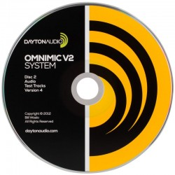 Dayton Audio OMCD Version 4 CD de test pour OmniMic V2