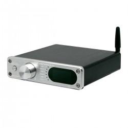 FX-AUDIO D502BT Amplificateur FDA TAS5342A Sortie Subwoofer Bluetooth 5.0 2x60W 4 Ohm Argent